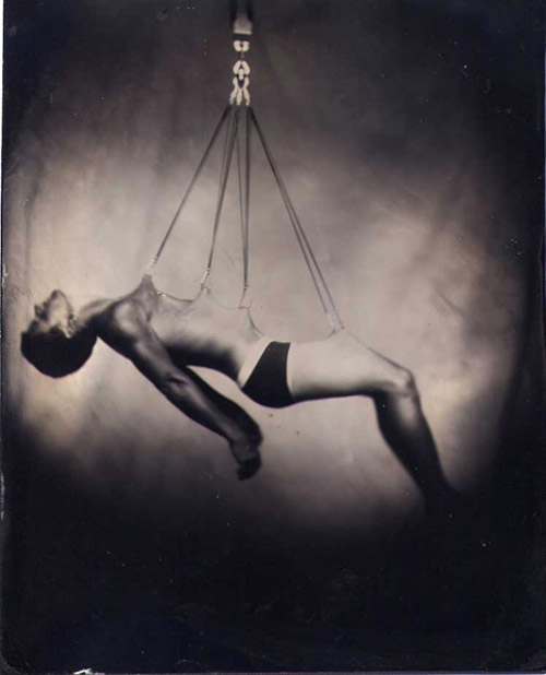 Nate Coma - black glass ambrotype by Matt Larkin (used with permission)