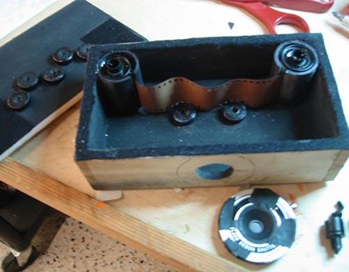 Homemade Wavycam pinhole camera by Steven Taft (photo used with permission)